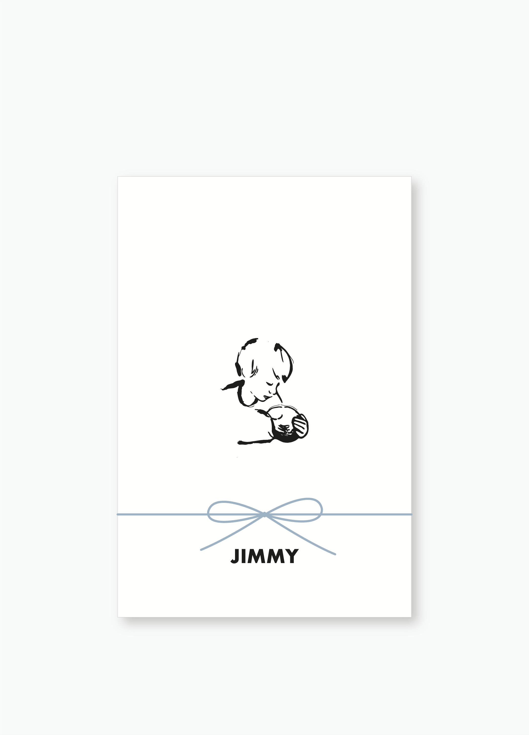 Geboortekaartje Jimmy | Studio Moose