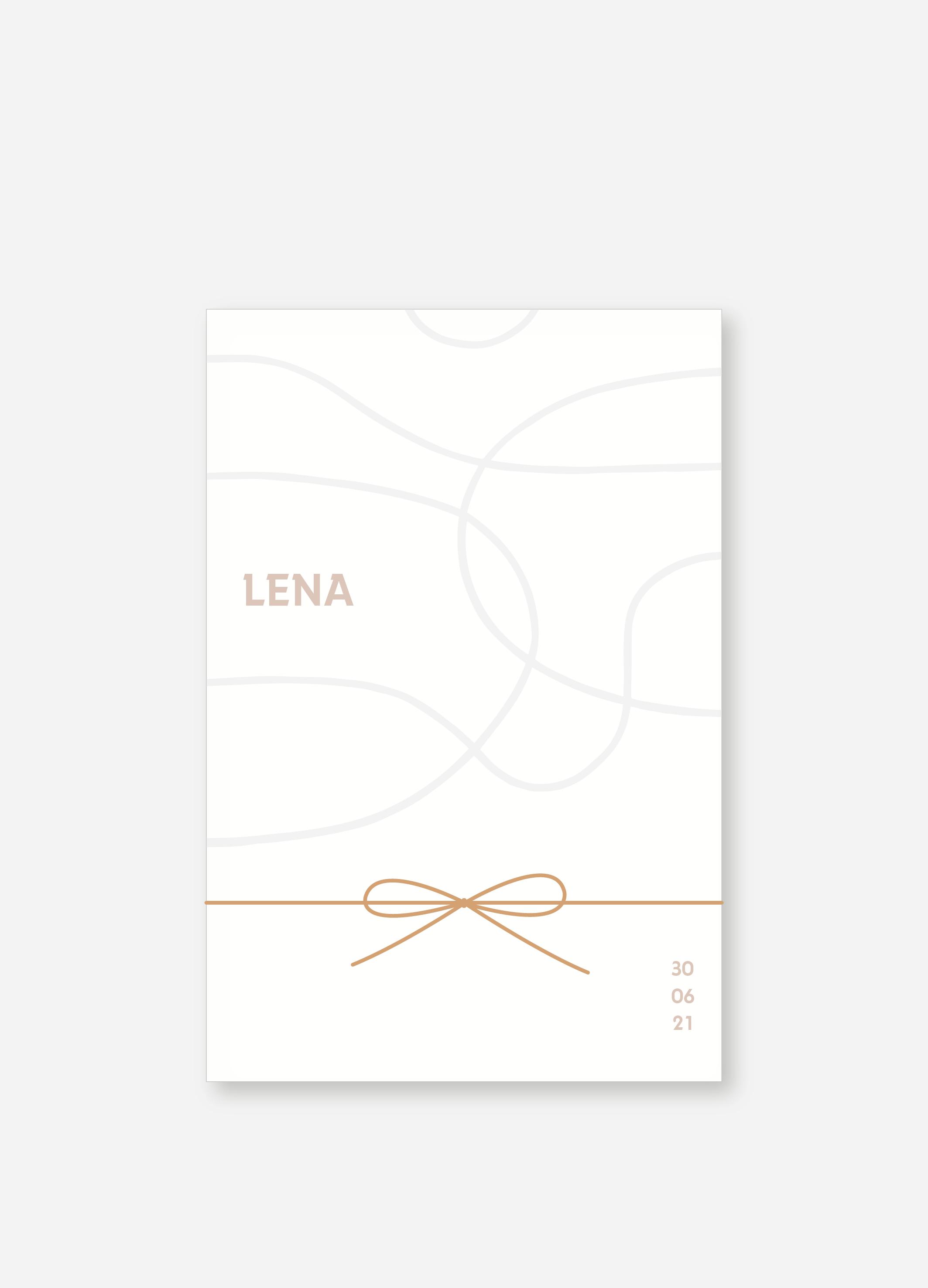 Geboortekaartje Lena | Studio Moose