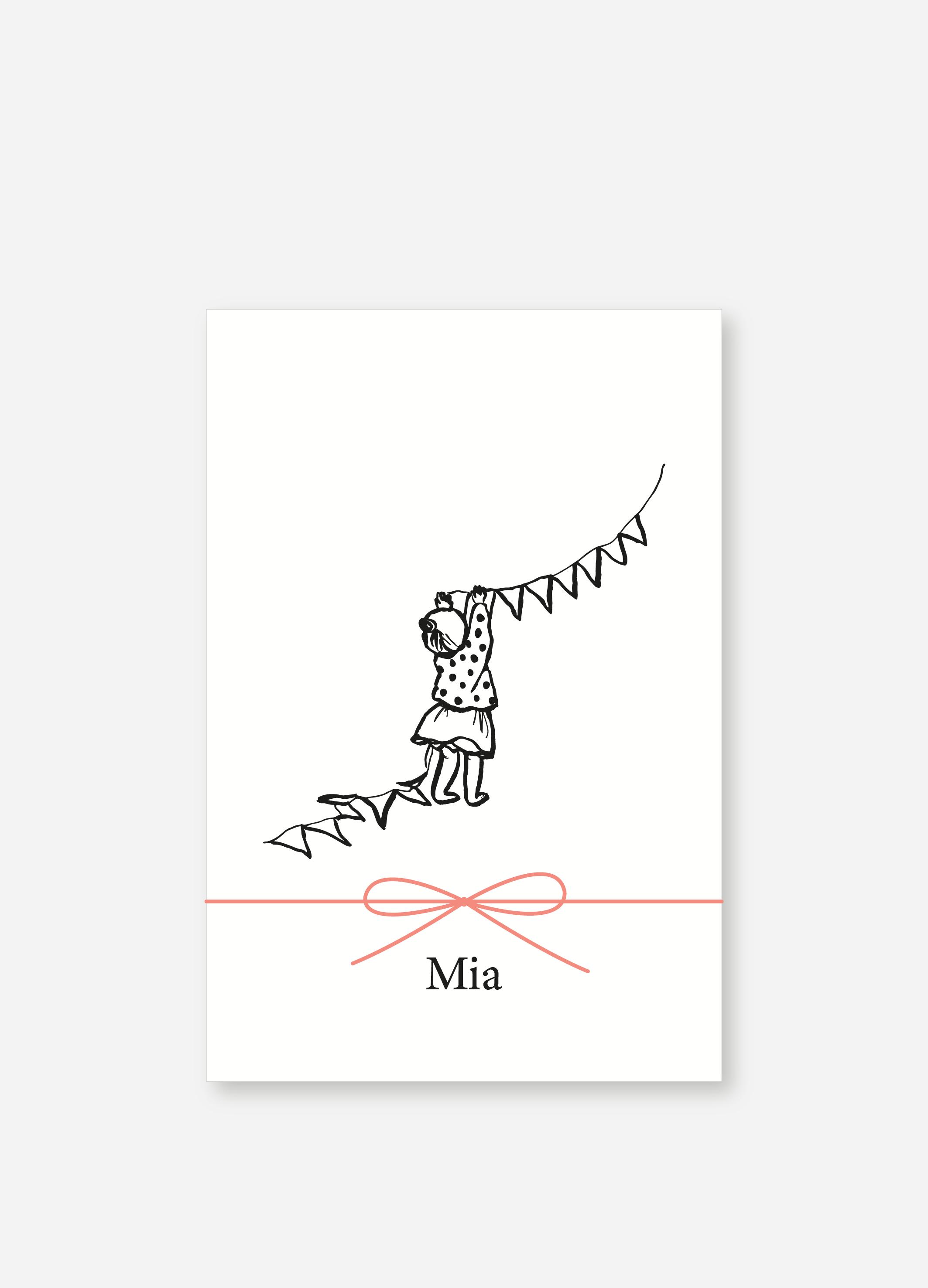 Geboortekaartje Mia | Studio Moose