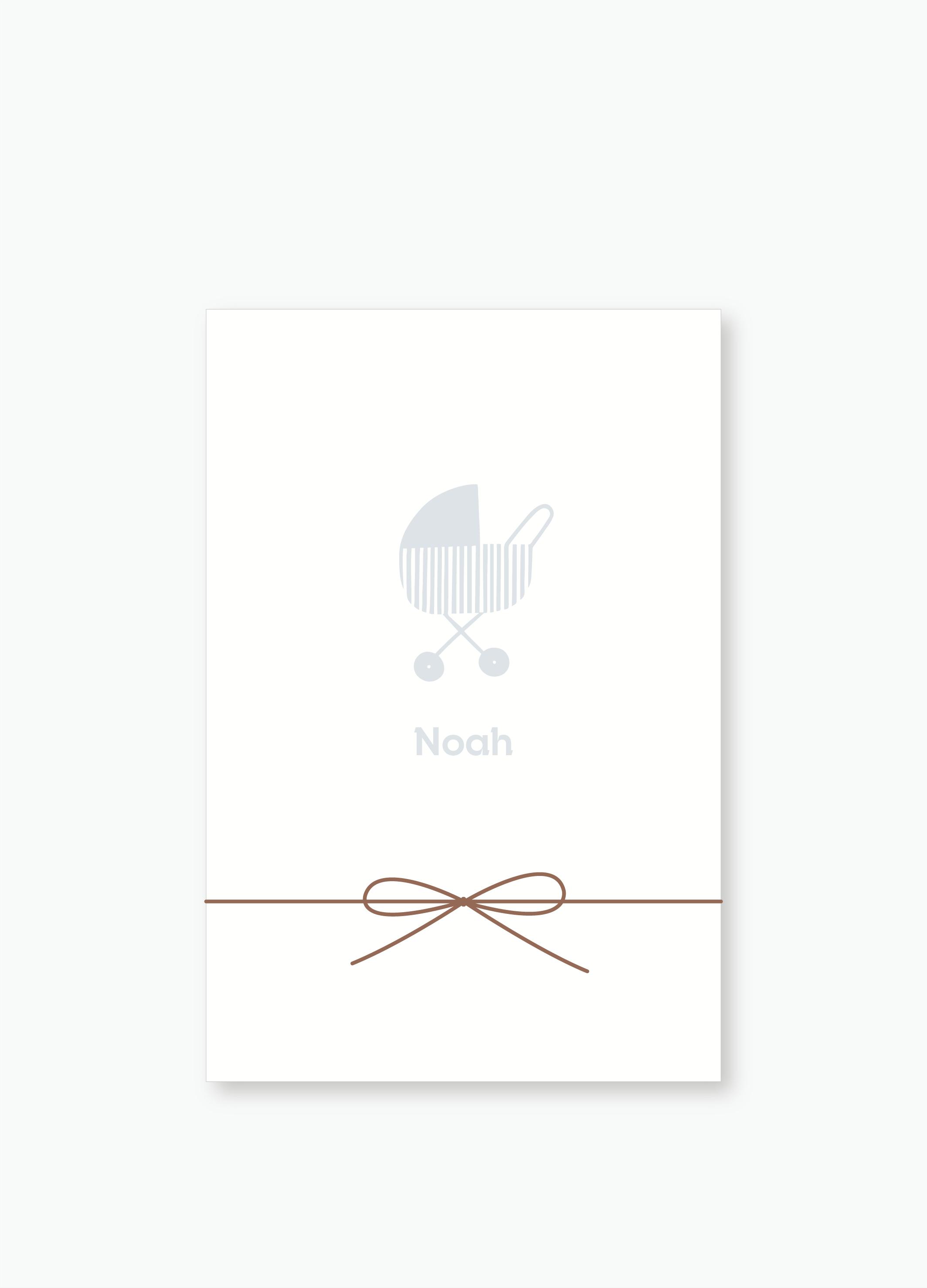 Geboortekaartje Noah | Studio Moose