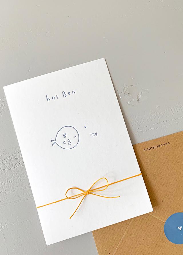 Proefkaartje Ben | Studio Moose