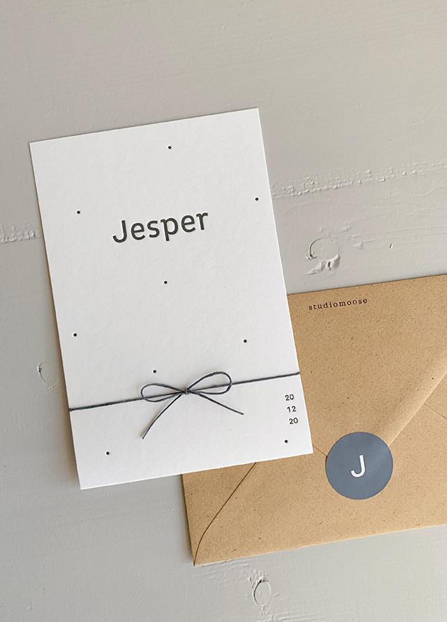 Proefkaartje Jesper | Studio Moose