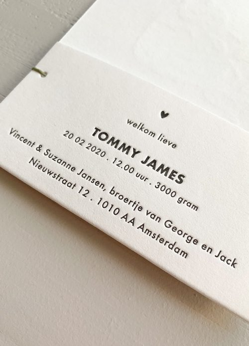Proefkaartje Tommy | Studio Moose