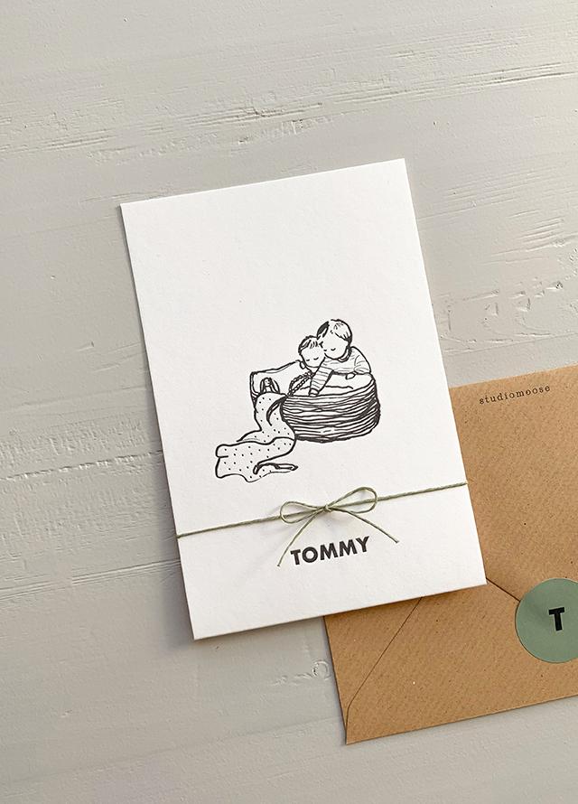 Proefkaartje Tommy   Studio Moose