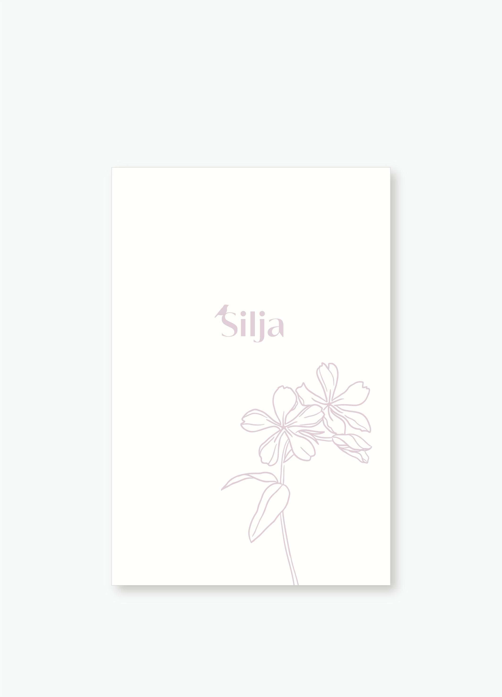 Geboortekaartje Silja | Studio Moose